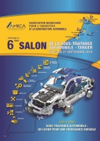 Auto Subcontracting show in Tanger from 25the to 27the September 2019
