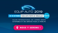 Equip Auto Show from 15th to 19th October 2019